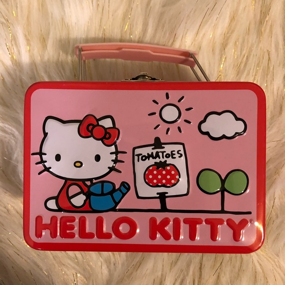 7471452b2a Hello Kitty Handbags - Mini Hello Kitty Lunch Box Makeup Tin